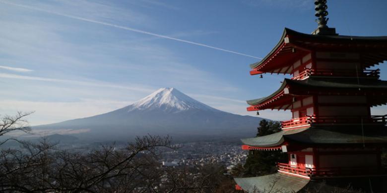 Gunung Fuji, Pesonamu Menyihir Wisatawan