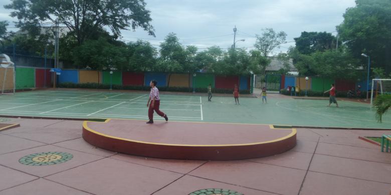 RPTRA di Meruya Selatan Dimanfaatkan untuk Berikan Pelatihan kepada Warga