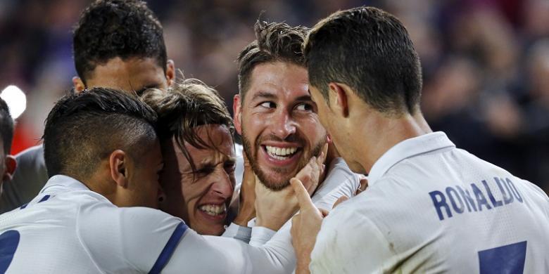 Pemain Real Madrid Merasa Menang atas Barcelona