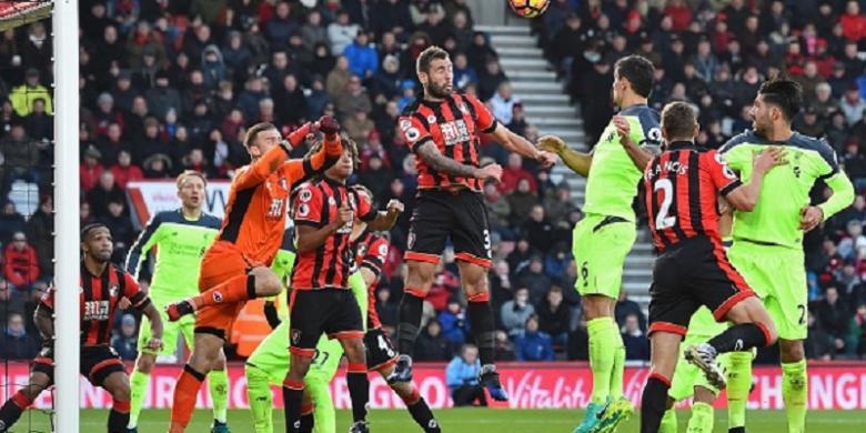 Sempat Unggul 2 Gol, Liverpool Kalah dari Bournemouth