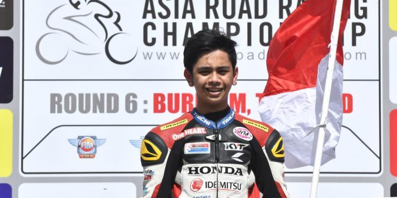 2 Hari Beruntun, Pebalap Honda Indonesia Injak Podium Sirkuit Chang