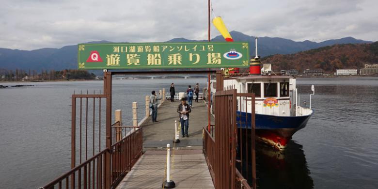Menepis Dingin Di Danau Kawaguchiko