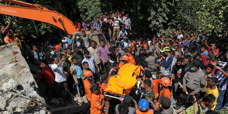 Polda Aceh: Korban Meninggal Dunia Gempa Aceh 97 Orang