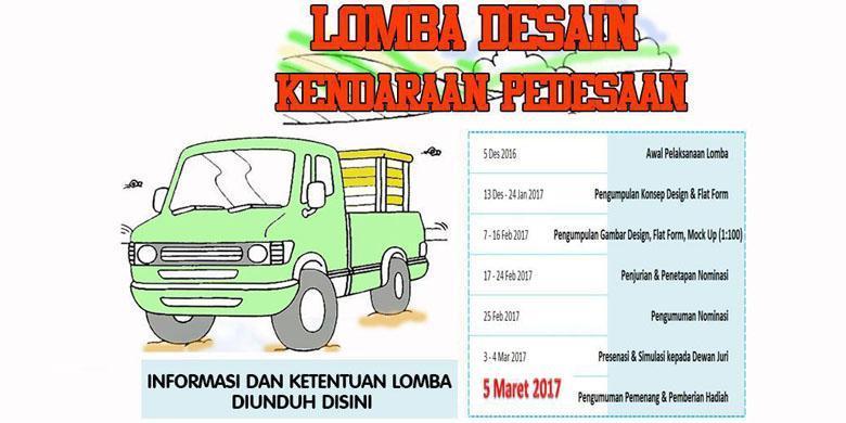 Mobil Pedesaan Harus Bisa Murni Indonesia