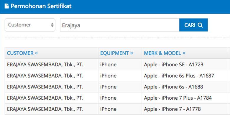 Erajaya Bersiap Impor IPhone 6s Dan IPhone 7 Ke Indonesia