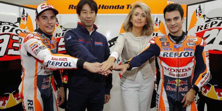 Kemesraan Repsol Dan Honda Berlanjut Sampai 2018
