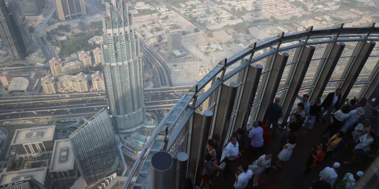 Burj Khalifa, Rekornya Tak Hanya Gedung Tertinggi Di Dunia