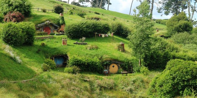 """5 """"Spot"""" Foto Wajib Di Desa Hobbit Selandia Baru"""