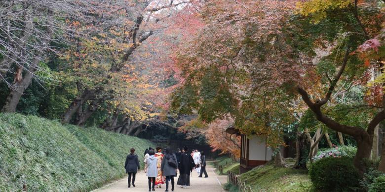 Menyusuri Korakuen, Taman Paling Cantik Di Jepang