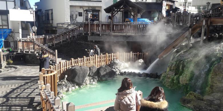 Kusatsu Onsen, Permandian Air Panas Terkenal Di Jepang