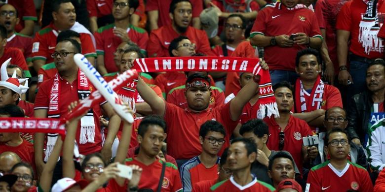 Piala Asia U-19 - Performa Suporter Tim nasional U-19 Indonesia Disorot Media Asing