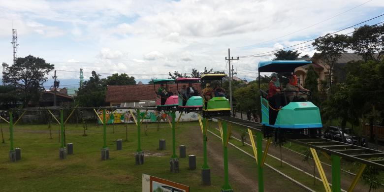 Skybike Taman Singha Malang, Wisata Bugar Baru untuk Masyarakat Kota Bunga