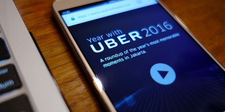 Rekor Pengguna Uber Indonesia, 5 Kali Setiap Hari Setahun Penuh