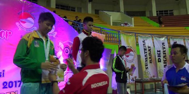 DKI Jakarta Juara Umum Kejurnas Wushu Junior