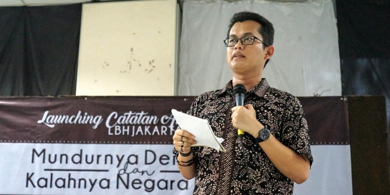 Image result for Direktur LBH Jakarta Alghiffari Aqsa