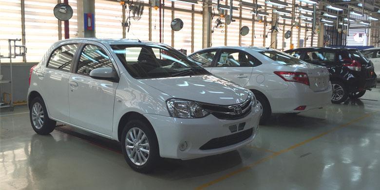 Toyota Buktikan Bahwa Etios Masih Diproduksi