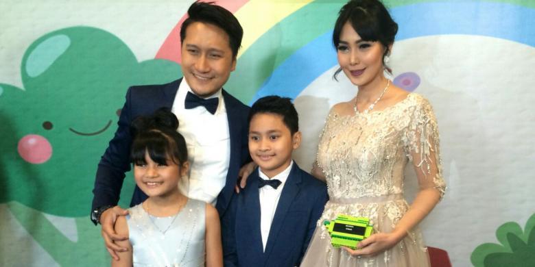 Rahasia Harmonis Keluarga Arie Untung - Kompas.com