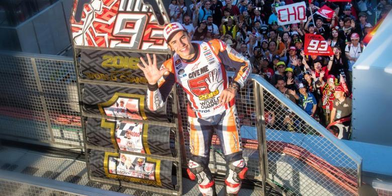 MotoGP 2016, Musim Penuh Rekor