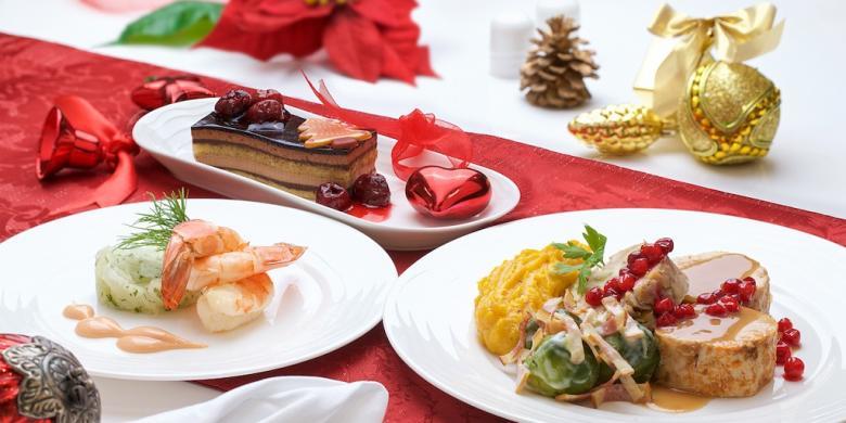 Hidangan Natal Di Ketinggian, Intip Menu Natal Berbagai Maskapai