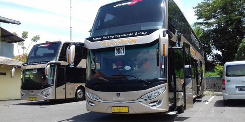 Mengintip Isi Bus Tingkat Ala Pesawat Rute Solo-Jakarta