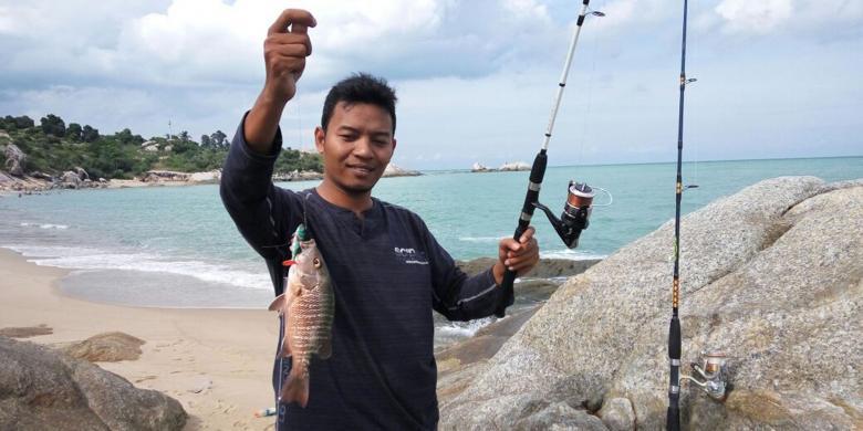 Memancing, Alternatif Wisata Di Pulau Bangka