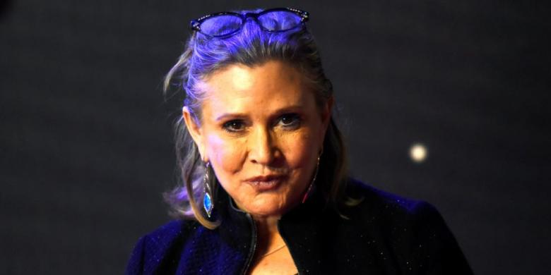 Pemeran Princess Leia Di Star Wars, Carrie Fisher, Meninggal Dunia