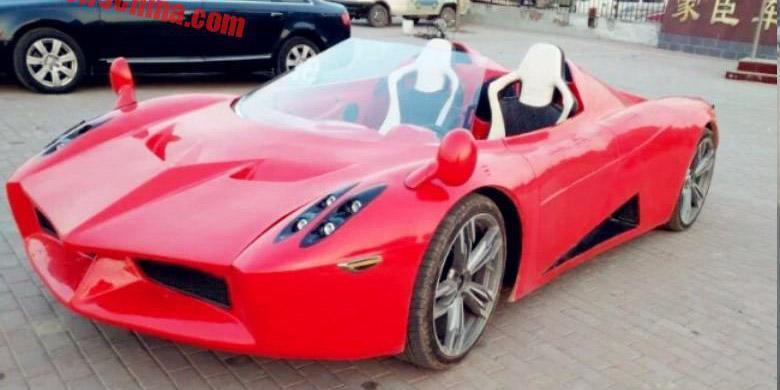 """""""Supercar"""" Listrik Buatan China Ini Cuma Rp 100 Jutaan"""