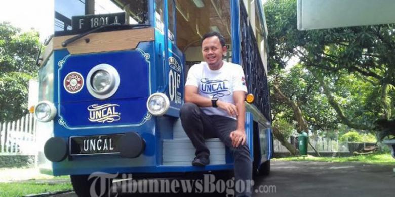 "Ini Bus Wisata ""Uncal"", Rutenya Keliling Kebun Raya Bogor"