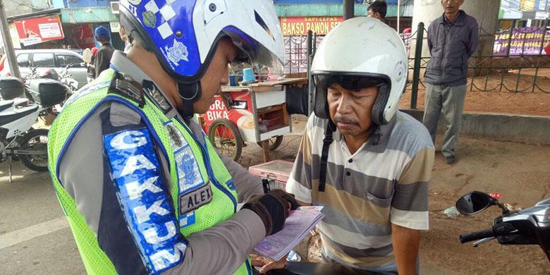Ide Baru Polisi Hadapi Pelanggar Lalu Lintas