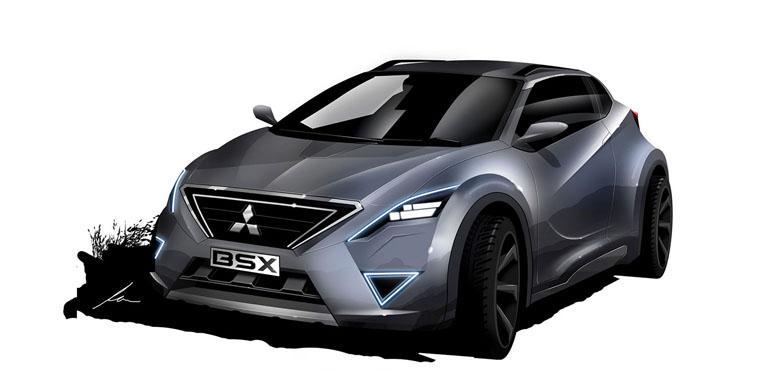 """Sketsa """"Konsep Liar"""" Mitsubishi BSX"""