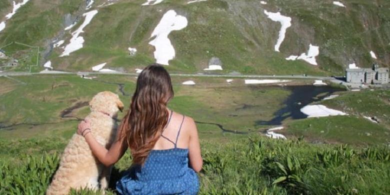 Kisah Perempuan Keliling Dunia Naik Mobil Bersama Anjing Kesayangan
