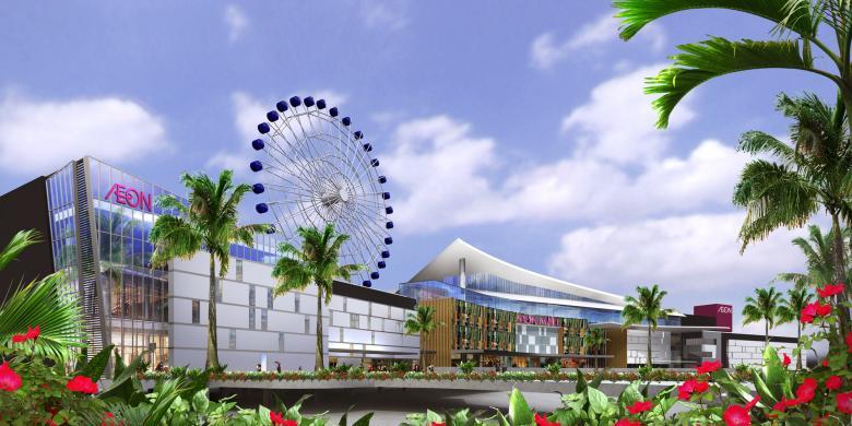 """""""Ferris Wheel"""" Terbesar Se-Indonesia, Cocok Untuk Pasangan"""