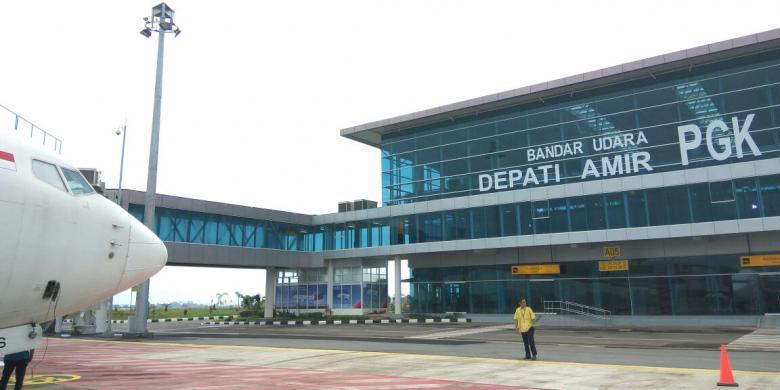 Bandara baru pangkalpinang bangka depati amir