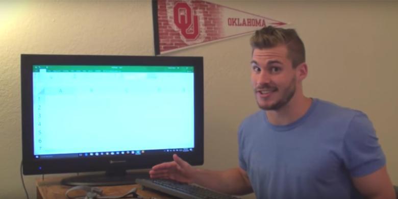 Pria Ini Habiskan 9 Jam Cari Kolom Terakhir Excel