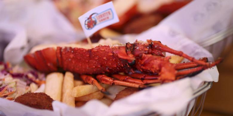 Lobster Panggang Dari Samudra Hindia