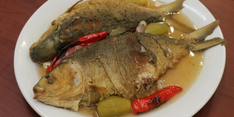 Masakan ikan bandeng
