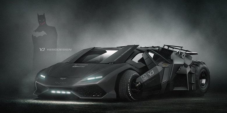 Pilih Desain Mobil Batman Yang Mana?