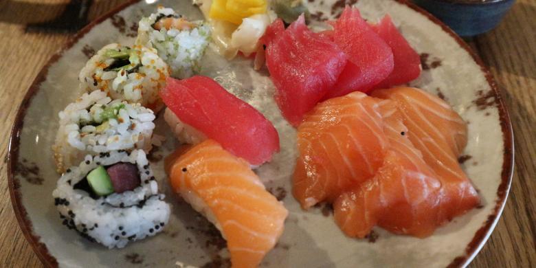 Apa Bedanya Sashimi Dan Sushi?
