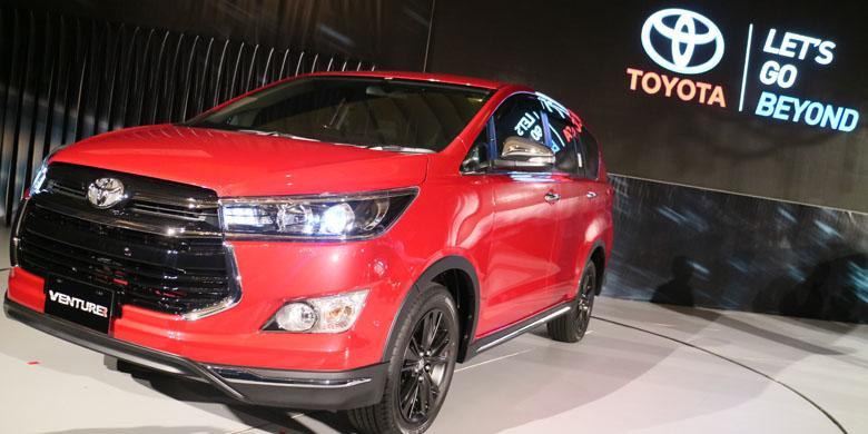 Toyota Rancang Gaya Petualang pada Innova