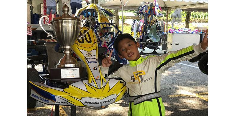 Pebalap Cilik Indonesia Juara di Malaysia