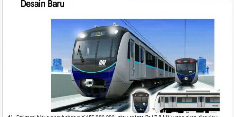 """Kereta MRT """"Jangkrik"""" untuk Kereta Perkotaan, Bukan untuk Antarkota"""
