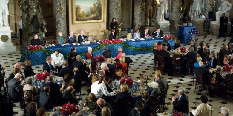 Seperti Apa Menu Makan Siang Pertama Para Presiden AS?