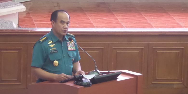 KSAL: Panglima Armada Harusnya Di Kapal, Bukan Di Darat