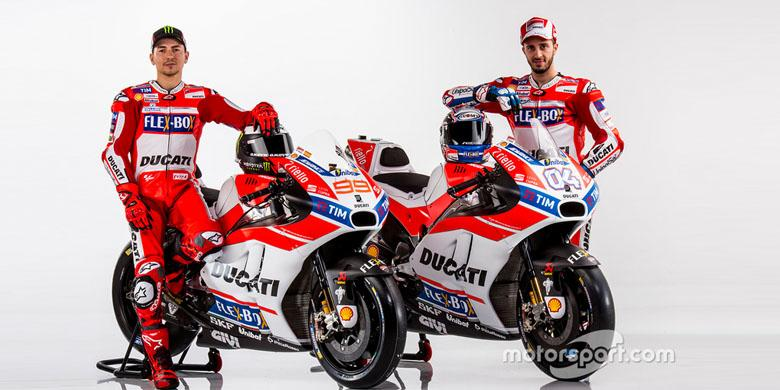 Ducati Mau Buat Model Baru Dengan Mesin MotoGP