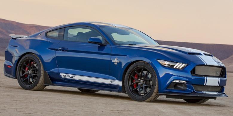 Shelby Mustang Edisi Terbatas Bertenaga Maksimal