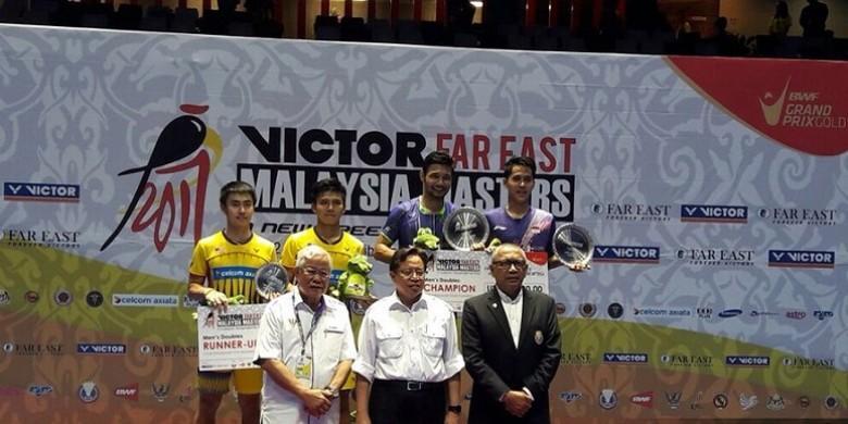 Hasil Malaysia Masters 2017, Indonesia Raih Satu Gelar