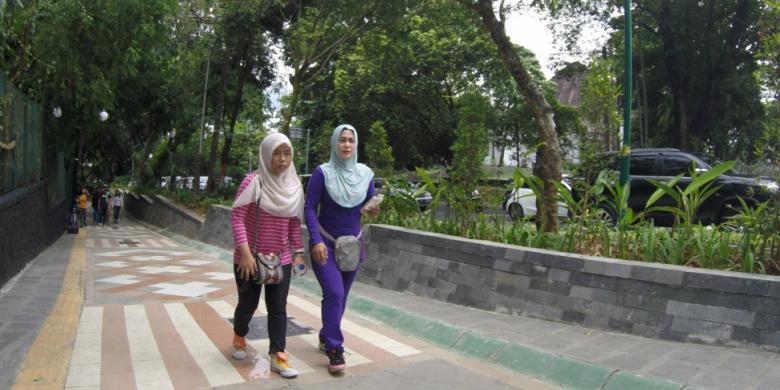 Wisata Super Murah Di Bogor, Keliling Jalur Pedestrian Baru