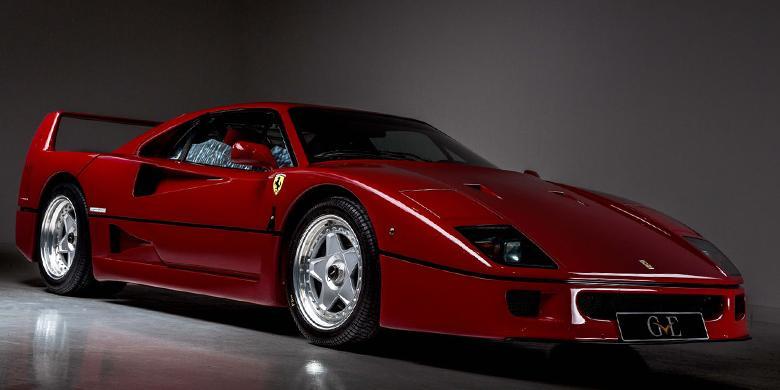Eric Clapton Jual Koleksi Ferrari Seharga Rp 15 M