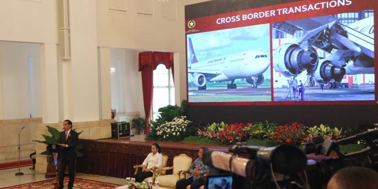 Jokowi Singgung Kasus Emirsyah Satar Di Depan Para Bos BUMN