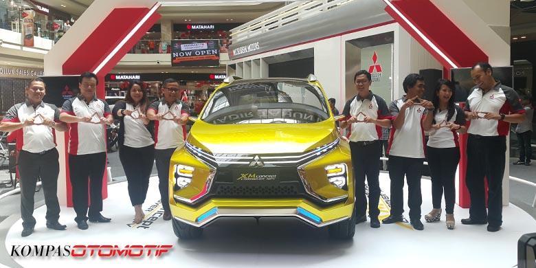 Calon Mitsubishi Yang Dirakit Di Pabrik Baru
